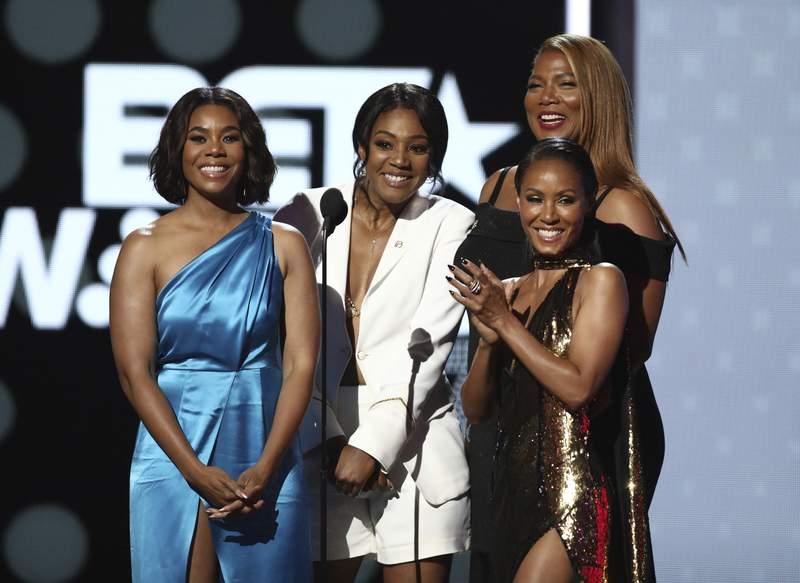 Image result for bet awards 2017 new edition queen latifah