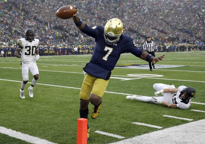 Wimbush Does It All In Irish Win