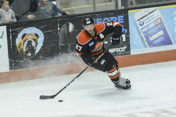 ECHL: Komets Help Shawn Szydlowski Celebrate League Most Valuable Player Honor