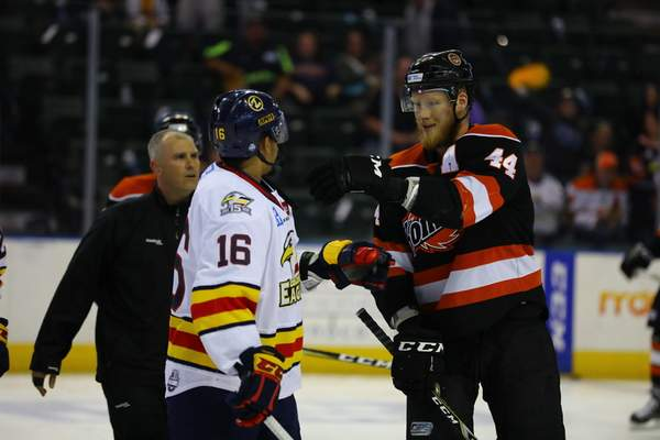 Echl Captains Soaring In Colorado Eagles Riley Nelson
