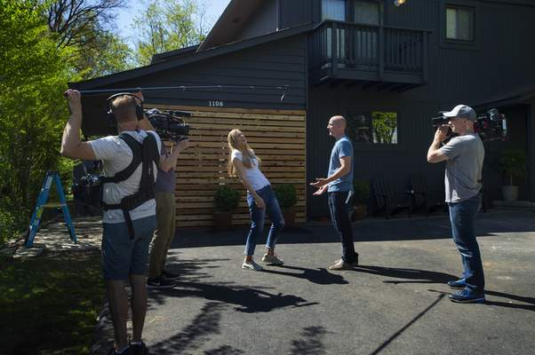 Washington Post Lauren And David Liess Film Hgtv S Best House On The Block That Will Debut This Fall I Think Has Given People Some Self Confidence