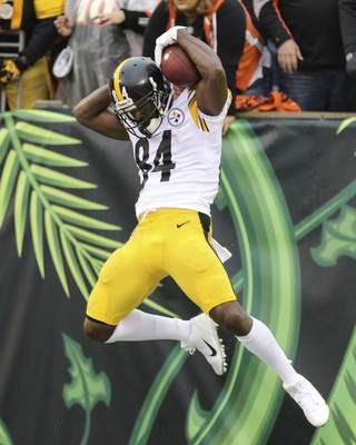 7da560b0 Antonio Brown's late TD sends Steelers over Bengals 28-21 | NFL | The  Journal Gazette
