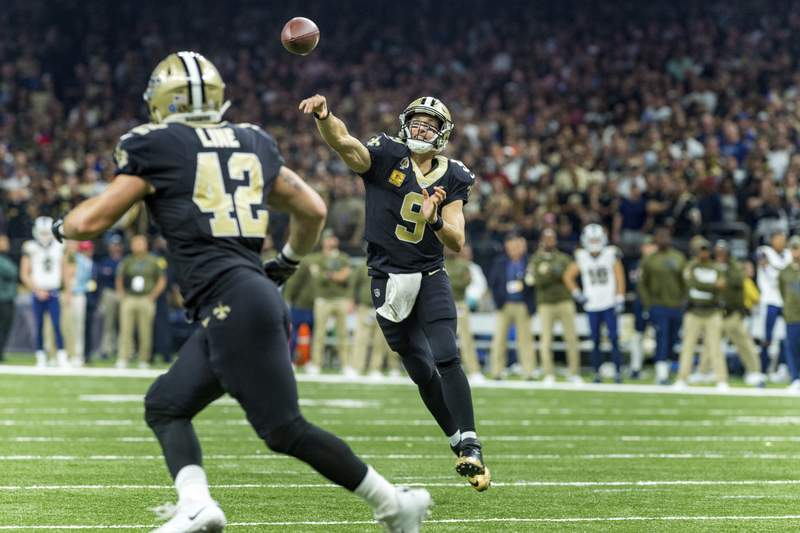 Image result for New Orleans Saints Associated press