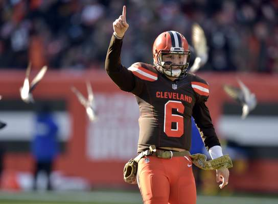 a634c73b4ab5ed Mayfield's November among best in league   NFL   The Journal Gazette