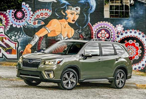 Review 2019 Subaru Forester Business The Journal Gazette