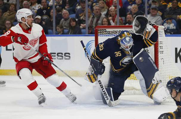 Sabres Roll Over Red Wings Nhl The Journal Gazette