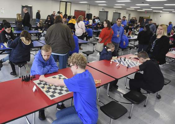 759dfe9037626 Young chess enthusiasts face off in middle school competition | Local | The  Journal Gazette