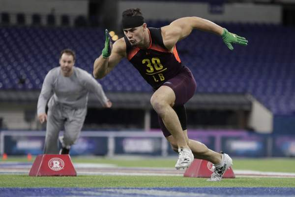 Tranquill Impressing At Combine Nfl The Journal Gazette