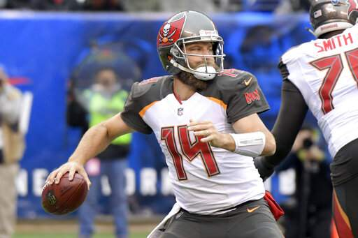 QB Fitzpatrick glad to be on move again 6ae147cfe