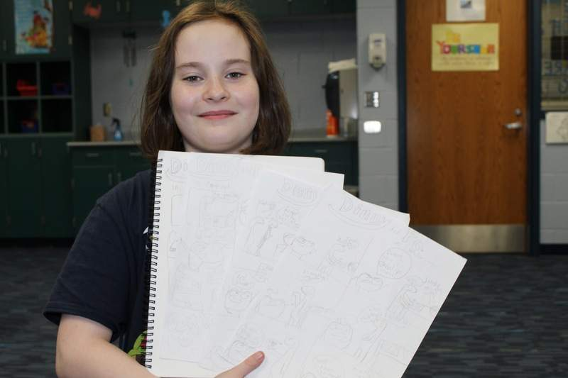 Fifth grader adds comic relief | Schools