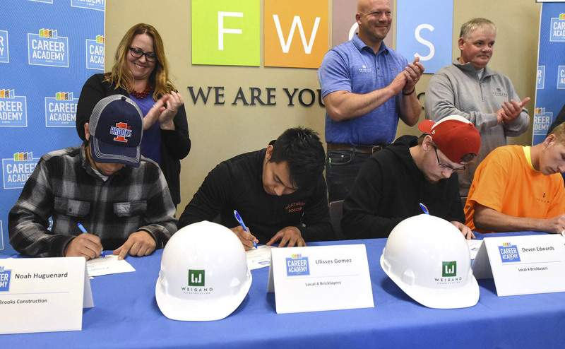 Signing day lauds future jobs | Local | Journal Gazette
