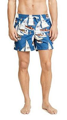 be9f46479b East Dane The Bather Printed Swim Trunk is perfect for a beach to boardwalk  look.