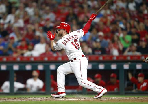 Barnhart leads Reds homer barrage in 8-4 win over Angels | MLB | The
