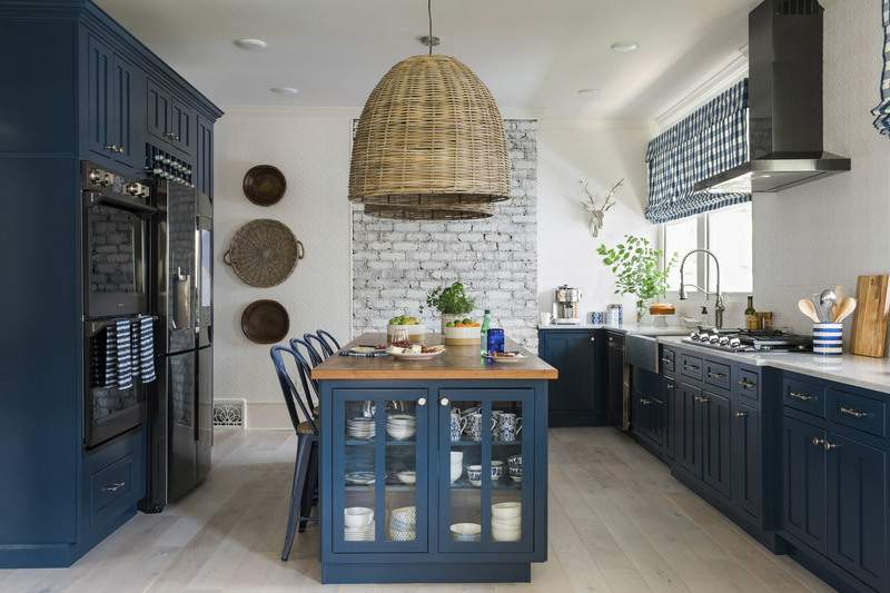 JGHome u0026 Garden. Associated Press Designer Brian Patrick Flynn says adding  color to your kitchen ...