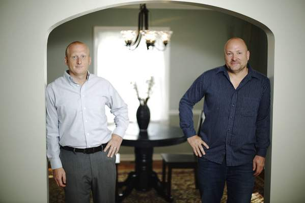 Chad Ryan   The Journal GazetteIn 2008, David Brough, left, and brother Mark began buying homes in foreclosure and refurbishing them for resale, turning vacant eyesores into highly sought properties. One example: 4420 Pembroke Lane in the Southwood Park neighborhood.