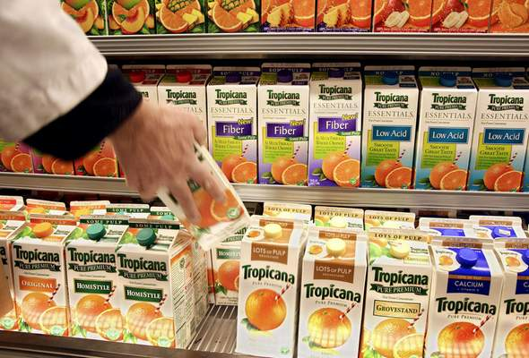 Bloomberg News Annual consumption of orange juice, which became a breakfast staple in America after World War II, is at its lowest point in nearly two decades.