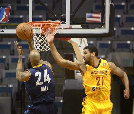 Samuel Hoffman/The Journel Gazette Glen Rice Jr., a Washington Wizards prospect, has a season average of 12.9 points over 13 games with the Mad Ants.
