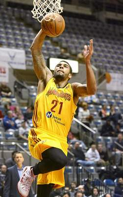Samuel Hoffman | The Journal Gazette The Mad Ants have one of the D-League's deepest rosters, which includes Glen Rice Jr., a Washington Wizards prospect.
