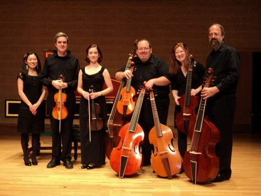 Courtesy New Comma Baroque will perform downtown Sunday at the Allen County Public Library, 900 Library Plaza.