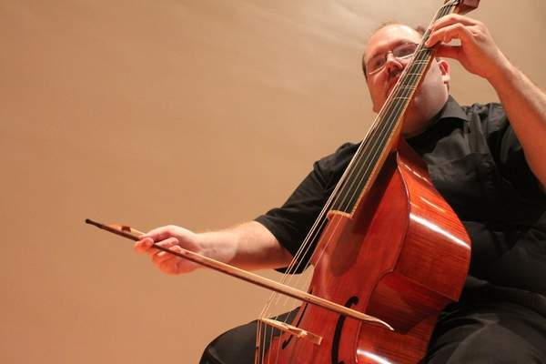 Courtesy Phillip W. Serna will play the viola da gamba at theFlights of Fancy: Eclectic Flavors from 17th and 18th Century Europe Sunday at the Allen County Public Library downtown.