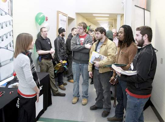 A welding conference held in February at Ivy Tech Community College Northeast allowed students to meet with representatives of companies in need of trained welders.