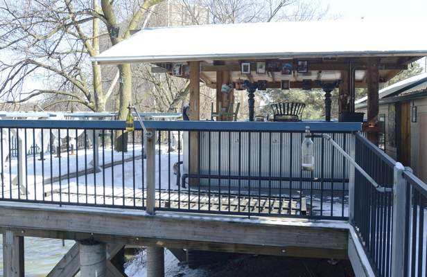 Michelle Davies   The Journal GazetteThe open-air bar at the Don Hall's Gas House could be shut down.