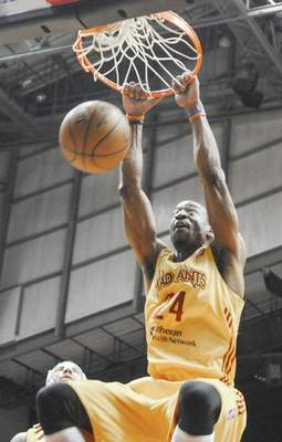 Michelle Davies   The Journal Gazette The Mad Ants will not have Chris Porter for the playoffs after his contract was ended for violating the D-League drug policy.