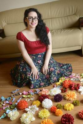 Samuel Hoffman | The Journal Gazette Jessica Montalvo owns Flairware Boutique, an online store. She is also a member of the Greater Fort Wayne Hispanic Chamber of Commerce.
