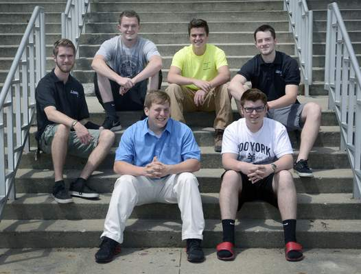 Samuel Hoffman   The Journal Gazette Students who will compete in the SkillsUSA championships are, clockwise from left, Cyrus Groves, Tyler Hack, Trevor Gilpin, Alex Guldbeck, Ross Vardaman and Ivan Nycum.
