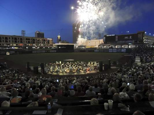 Courtesy The Fort Wayne Philharmonic is going outdoors to perform its free Patriotic Pops concert for the second time at Parkview Field.