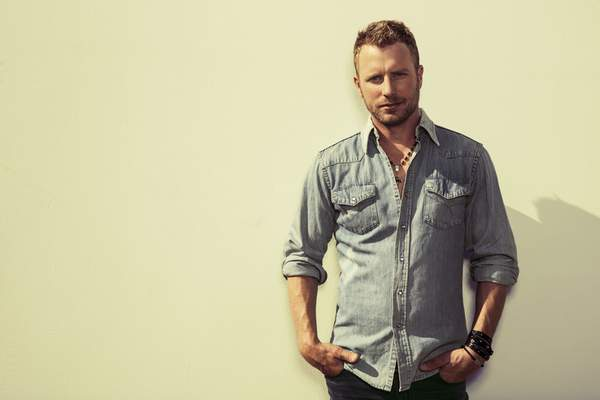 Courtesy Country singer Dierks Bentley's summer tour will stop Saturday at Parkview Field.