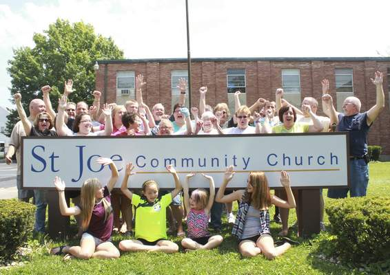 Rachel Von   The Journal Gazette After more than a decade on the move, St. Joe Community Church members will celebrate having their own building, the former Memorial Baptist Church at 2900 N. Anthony Blvd.