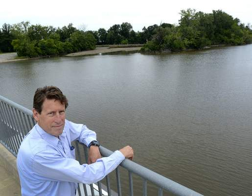 Samuel Hoffman | The Journal Gazette Bruce Kingsbury is a biology professor at IPFW and director of the IPFW Environmental Resources Center. He oversees data collection on the quality of the local rivers.