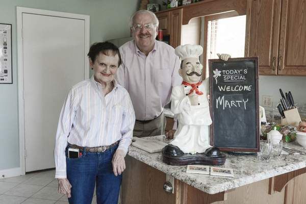 Photos by Michelle Davies | The Journal Gazette Bruce and Anne Chwalek have welcomed a half-dozen visitors to their northwest Fort Wayne home over the past three years through Airbnb, an online service that connects hosts and travelers in locations around the world.
