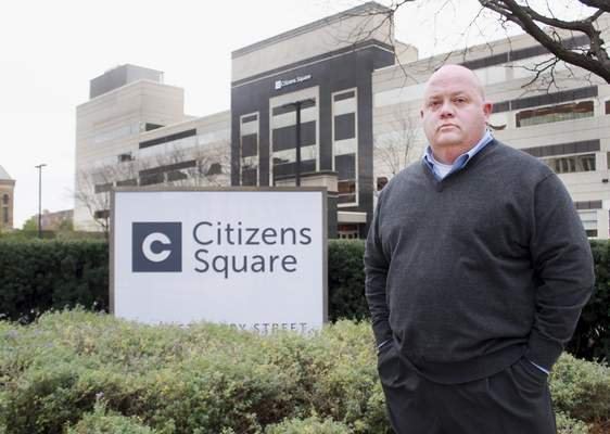 Rachel Von | The Journal Gazette Colin Keeney, former parking enforcement supervisor, will start his second year of law school in January at Indiana Tech.