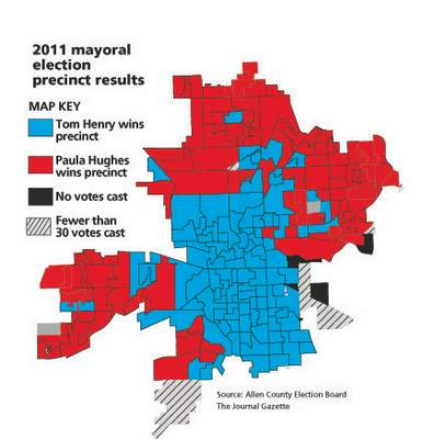 2011 mayoral election precinct results