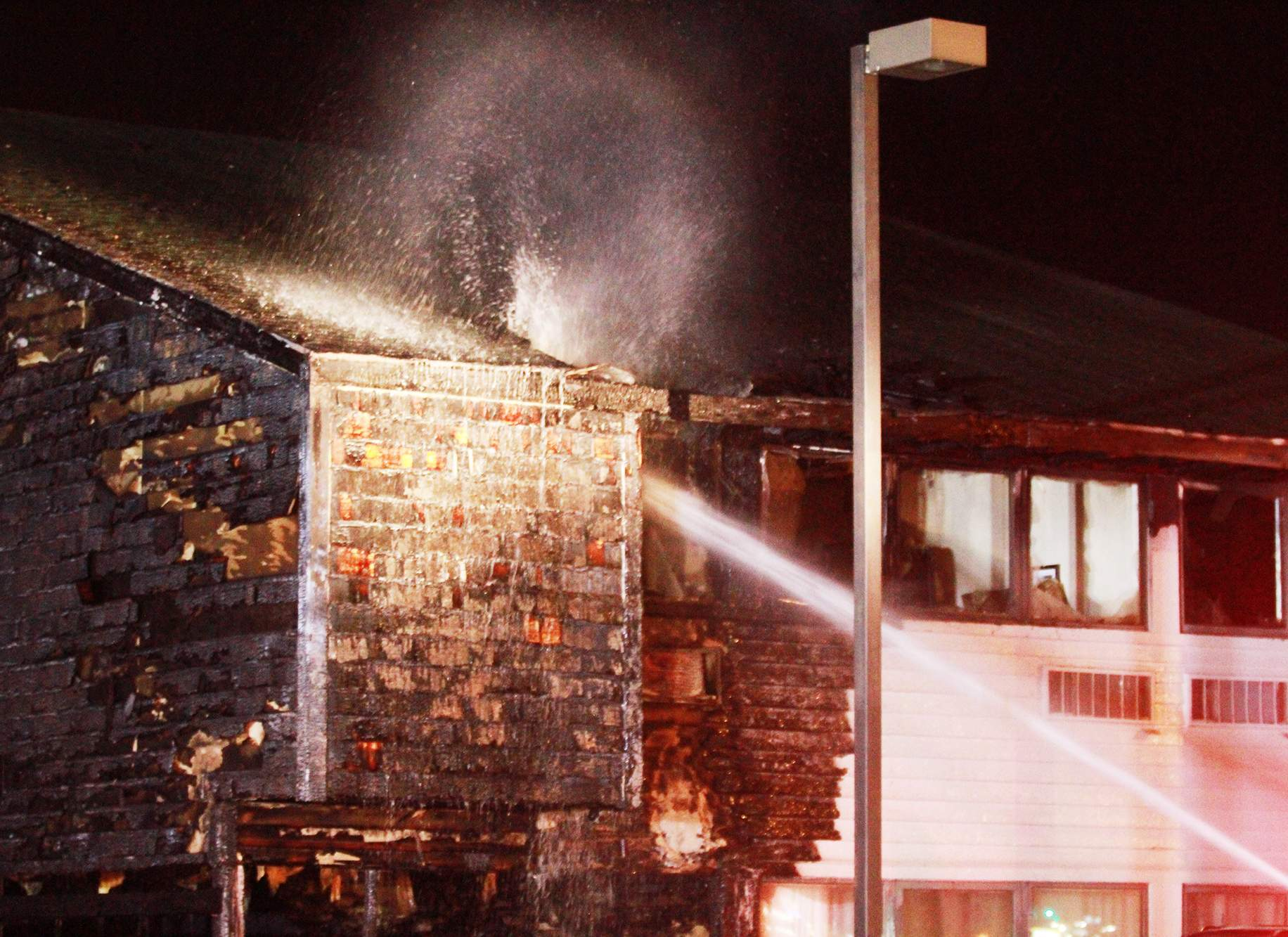 Fire Destroys Part Of North Side Hotel Police Fire The Journal Gazette