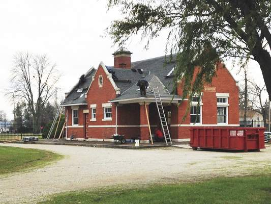 Courtesy Decatur will use a $40,000 state grant announced Monday to help turn the Pennsylvania Railroad depot into a community center.