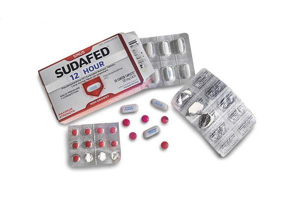Journal Gazette In Indiana, cold medicine such as Sudafed that contains pseudoephedrine may soon be available only with a prescription, as a way to discourage people who use it to make illegal methamphetamine.