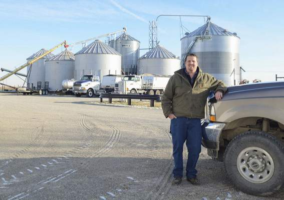 Michelle Davies | The Journal Gazette Craig Fruechte raises 24,000 turkeys on five acres of his Decatur farm, while the other 1,500 acres is used for crops.