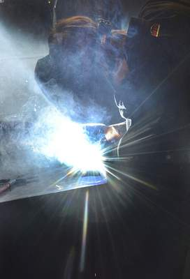 Cathie Rowand | The Journal Gazette Welding is seen as one of five jobs areas expected to grow in Indiana.