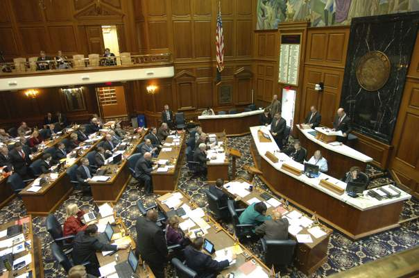 File: Members of the Indiana House. Hoosier taxpayers have paid $160,000 in legal fees to shield Indiana House and Senate communications from public view in just eight months.