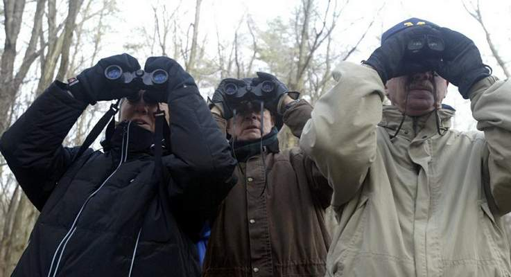 File According to a 2013 government study, most American birdwatchers are white and older than 45. But most people view birdwatchers as, well, creepy.