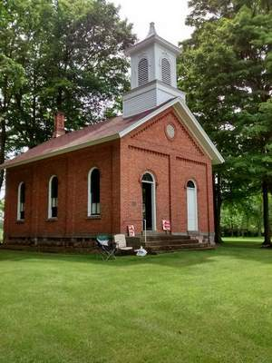 Courtesy of Sharridee Collins  The Collins Schoolhouse Museum offers viewers a glance from the past.