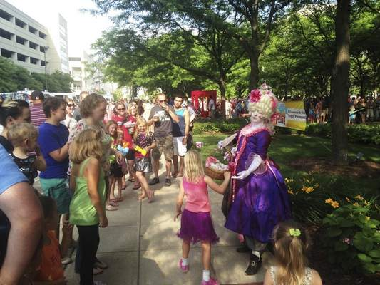 Courtesy Street performers and musicians will be part of BuskerFest on Saturday in downtown Fort Wayne.