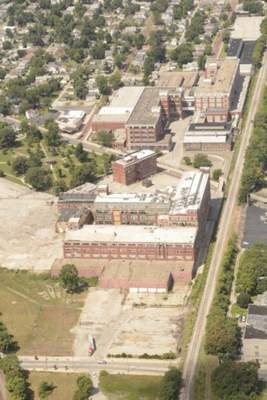 Samuel Hoffman | The Journal Gazette. GE has put out a 27-page marketing document extolling the virtues of the vacant campus.