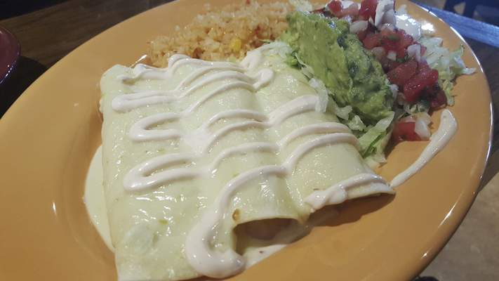 Fernando's Enchiladas from Agaves Mexican Grill at Chapel Ridge.