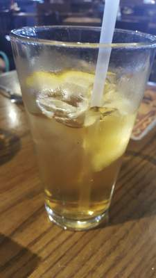 One of the weakest iced teas I have ever been served. It was from Agaves Mexican Grill at Chapel Ridge.
