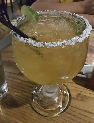 A Supreme Margarita from Agaves Mexican Grill at Chapel Ridge.