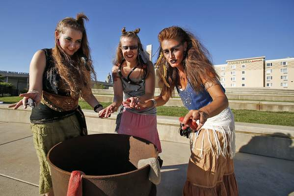 Chad Ryan | The Journal Gazette Playing witches in